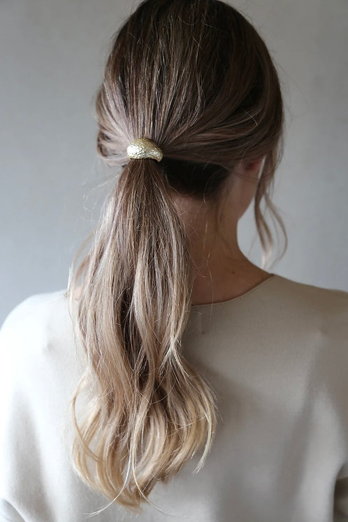 Tutti & Co Gold Dome Hair Cuff