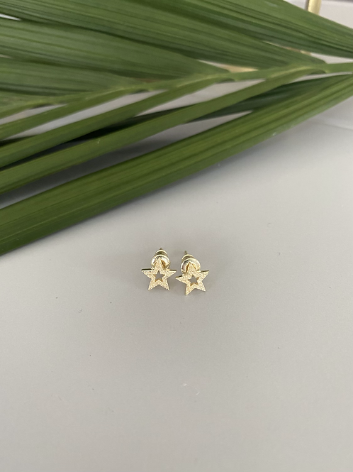 Tutti & Co Star Stud Earrings