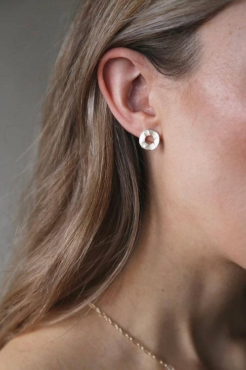 Tutti & Co Circle Stud Earrings