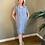 Thumbnail: Thing Short Sleeve Linen Dress