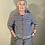 Thumbnail: Mama B Erbaluce Cardigan Blu Stripe