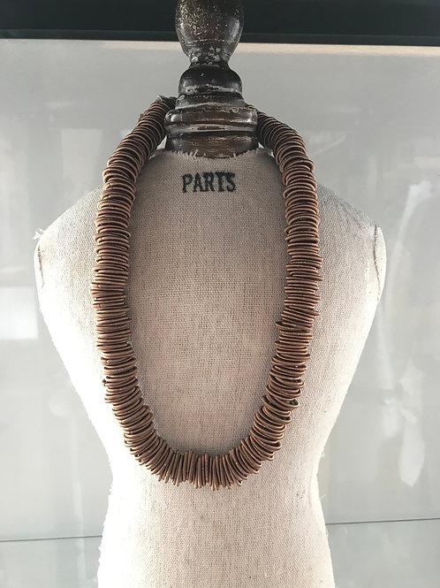 Etnika Circles Necklace - Copper Rose
