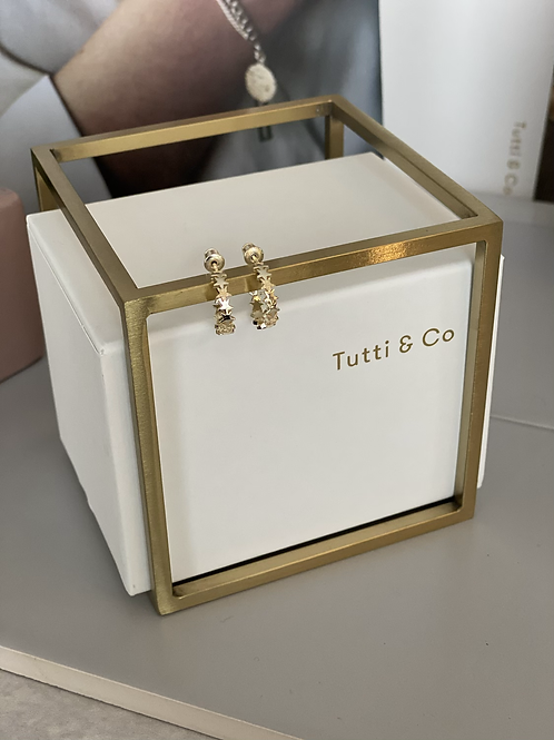 Tutti & Co Star Earrings