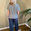 Thumbnail: Peruzzi Charcoal Linen Trousers