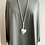 Thumbnail: Long Heart Necklace