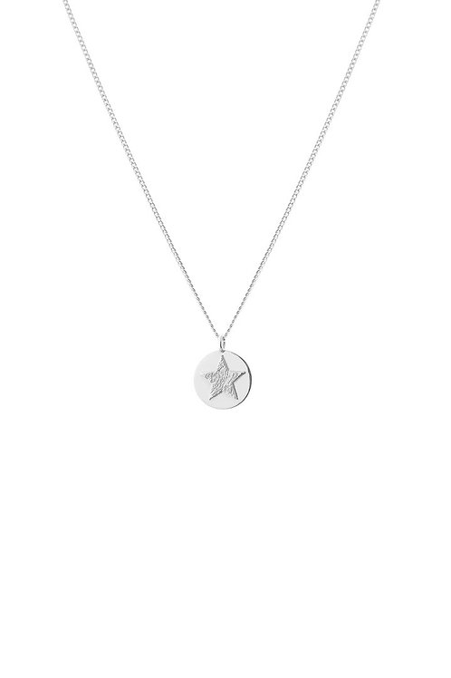 Tutti & Co Star Disk Necklace