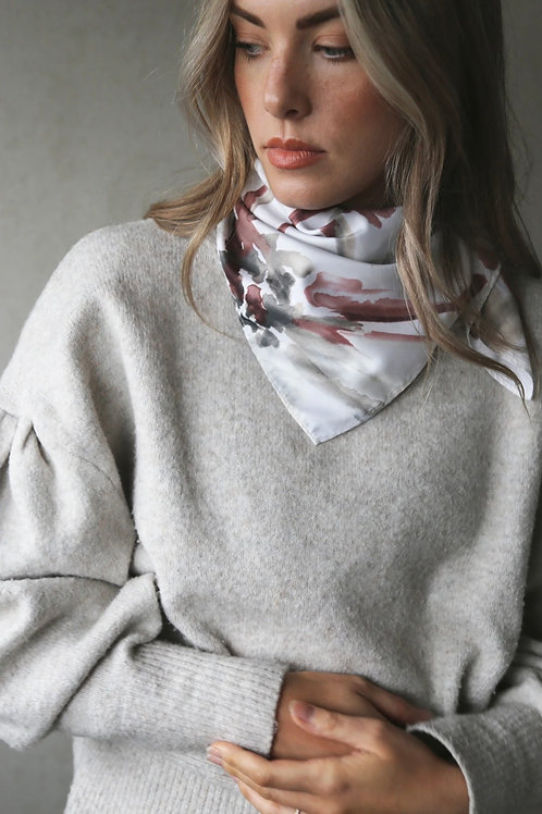 Tutti & Co Bloom Square Scarf