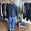 Thumbnail: Grizas Silk/Linen Jacket - Blue