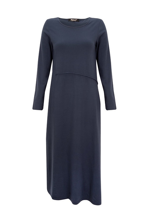 Mama B Daino Dress Ink Navy