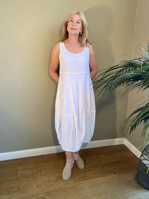 Grizas Linen Sleeveless Dress