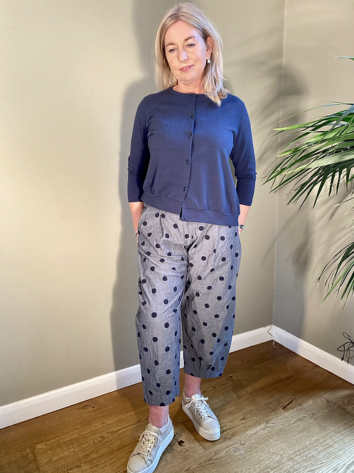 Mama B Erbaluce Cardigan Blu