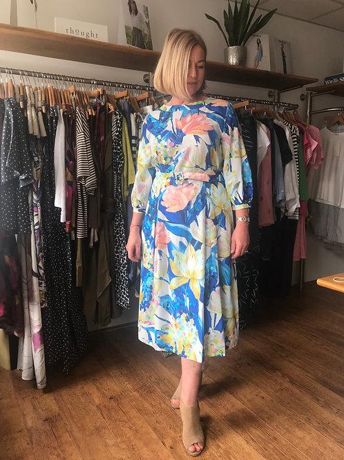 Thought Sabbina Print Midi Dress
