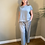 Thumbnail: Neirami Linen Wide Leg Trouser