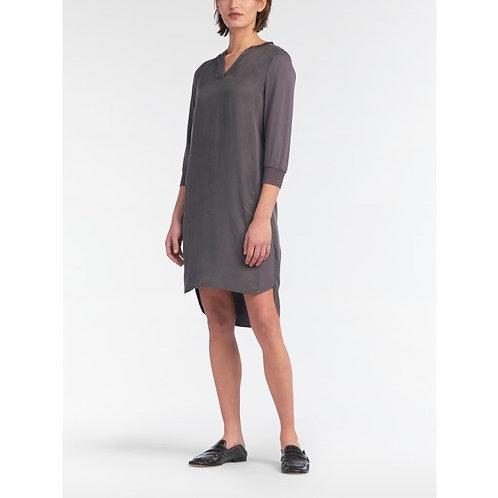 Sandwich Dress - Steel Grey