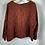 Thumbnail: Grizas Silk/Linen Top - Rust