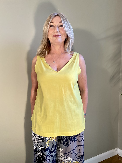 Thought Imogen Cami Top - Yellow