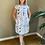 Thumbnail: Grizas Ocean Splash Linen Dress
