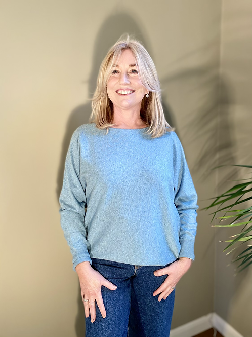 Thought Polly Jumper - Duck Egg Blue