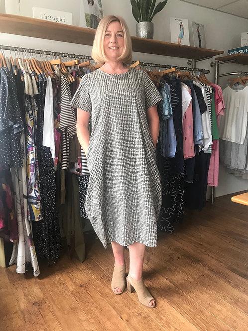 Neirami Abstract Print Dress