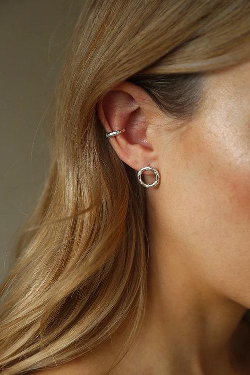 Tutti & Co Rope Twist Stud Earrings
