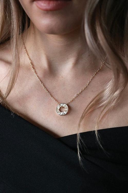 Tutti & Co Circle Necklace