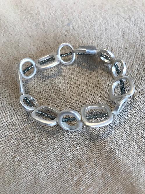 Etnika Essentials Bracelet Silver/Grey