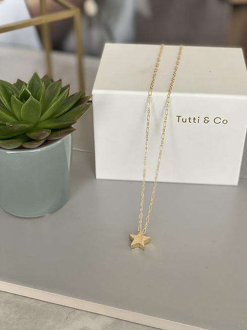Tutti & Co Star Necklace