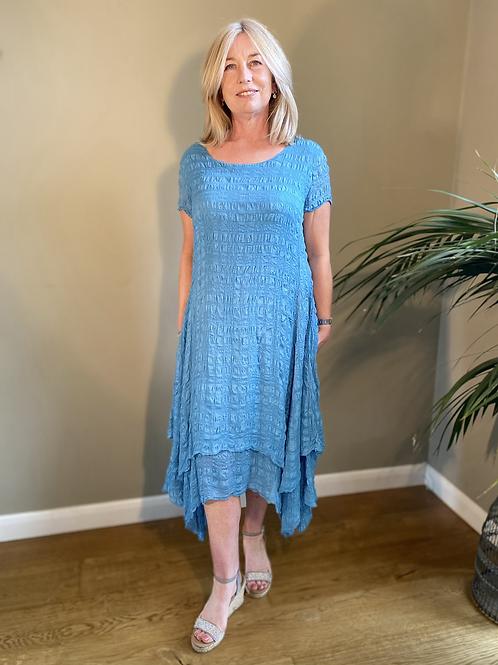Grizas Silk Layered Dress