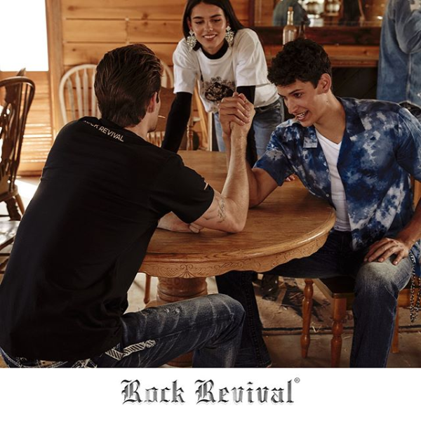 Rock Revival Saloon Interior Arm Wrestle
