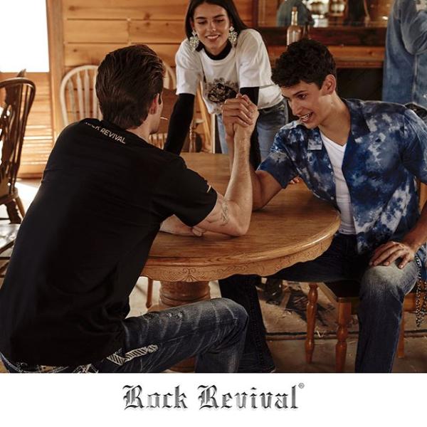 Rock Revival Saloon Interior Arm Wrestle
