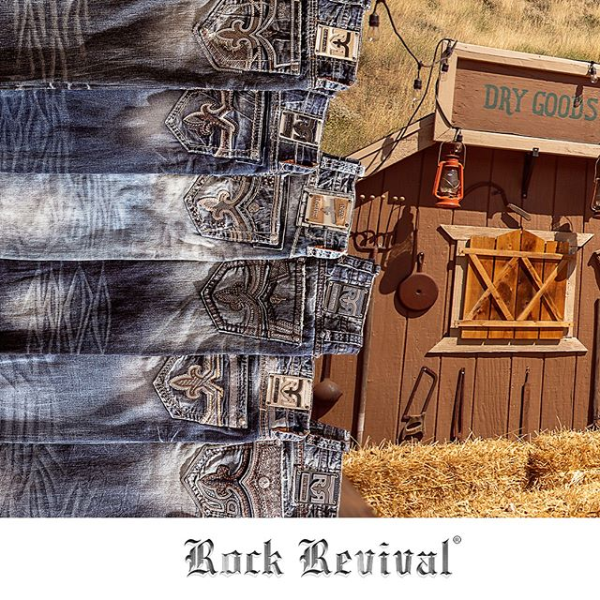 Rock Revival Jeans at Merchantile