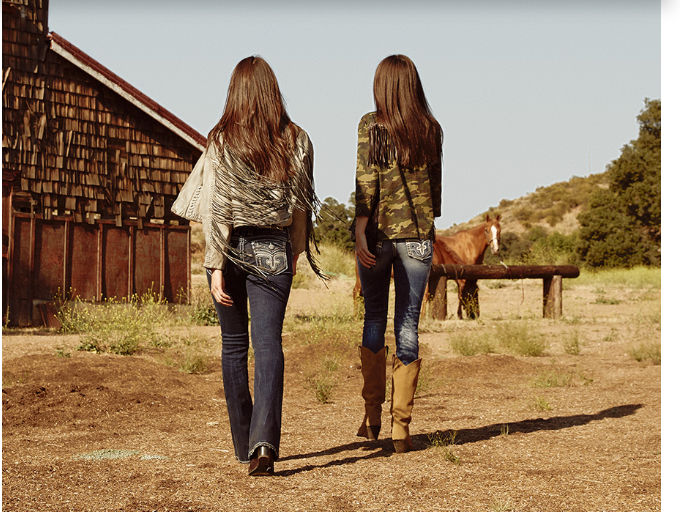 Rock Revival Women's Jeans with Horses