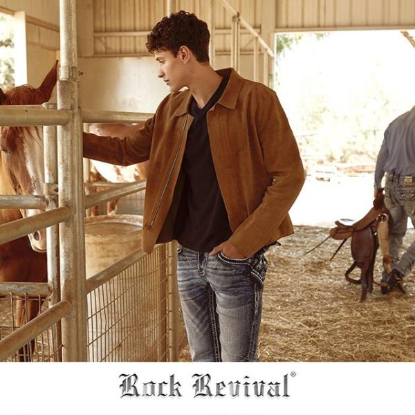 Rock Revival Men's Jeans in Barn