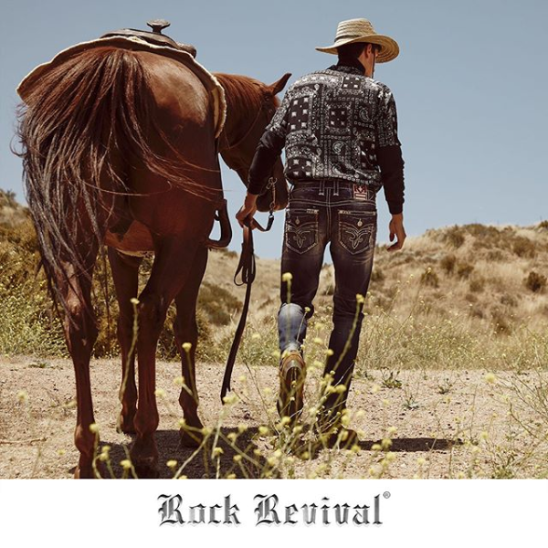 Rock Revival Walking Horse