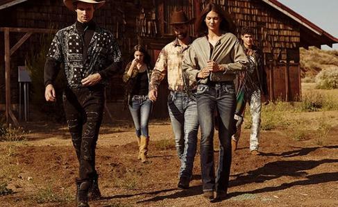 Rock Revival Group Shot Old Barn