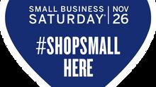 Small Business Saturday, Nov. 26th