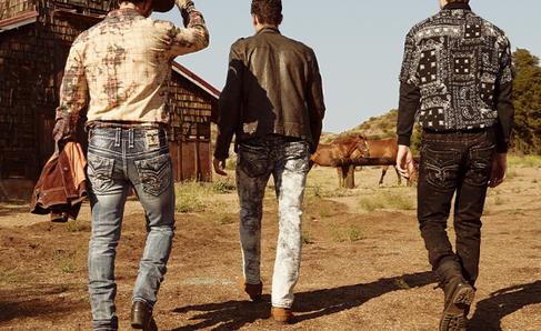 Rock Revival Men's Jeans with Horses