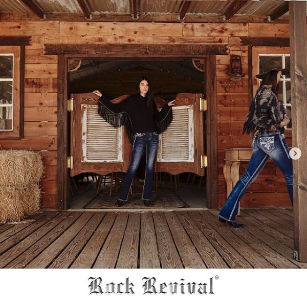 Rock Revival Saloon Exterior shot
