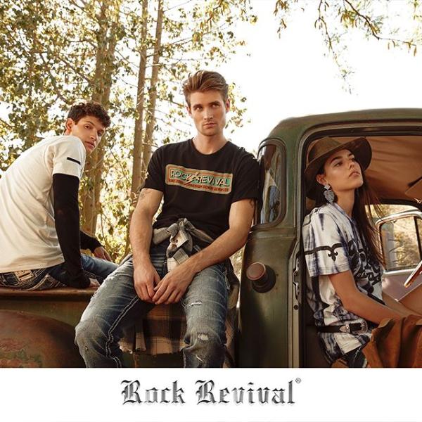 Rock Revival Group Shot with Vintage Tru