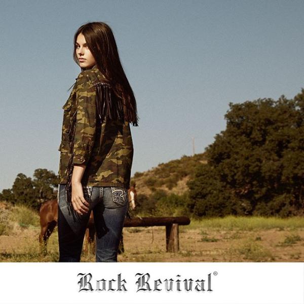 Rock Revival Exterior W_ Horses
