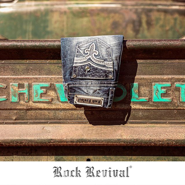 Rock Revival Jean Display on Chevy