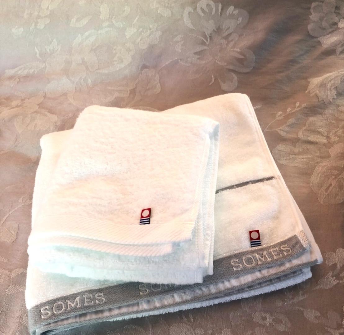 タオルは今治タオルをご用意しております