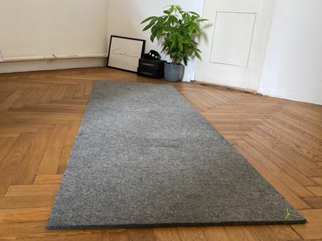Yogawool – Die Yogamatte aus Wolle im Test