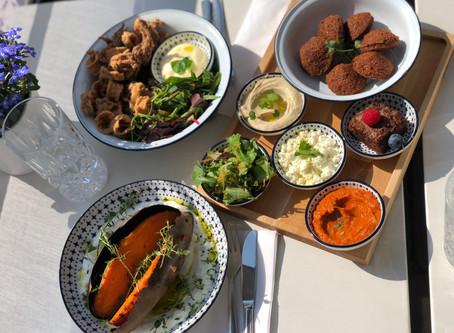 Lunch in Marcos Fresh Greek