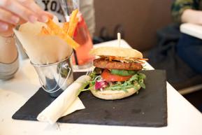 Burger bei Veggiezz