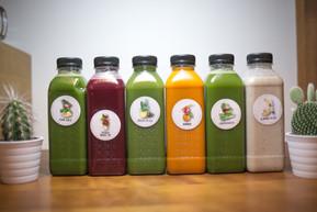 Juice Cleanse - ein Tag, sechs Säfte