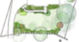 Master plan - Rue Sherwood Landscape Design