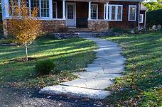 Front walkway landscaping-Rue-Sherwood-Landscape-Design