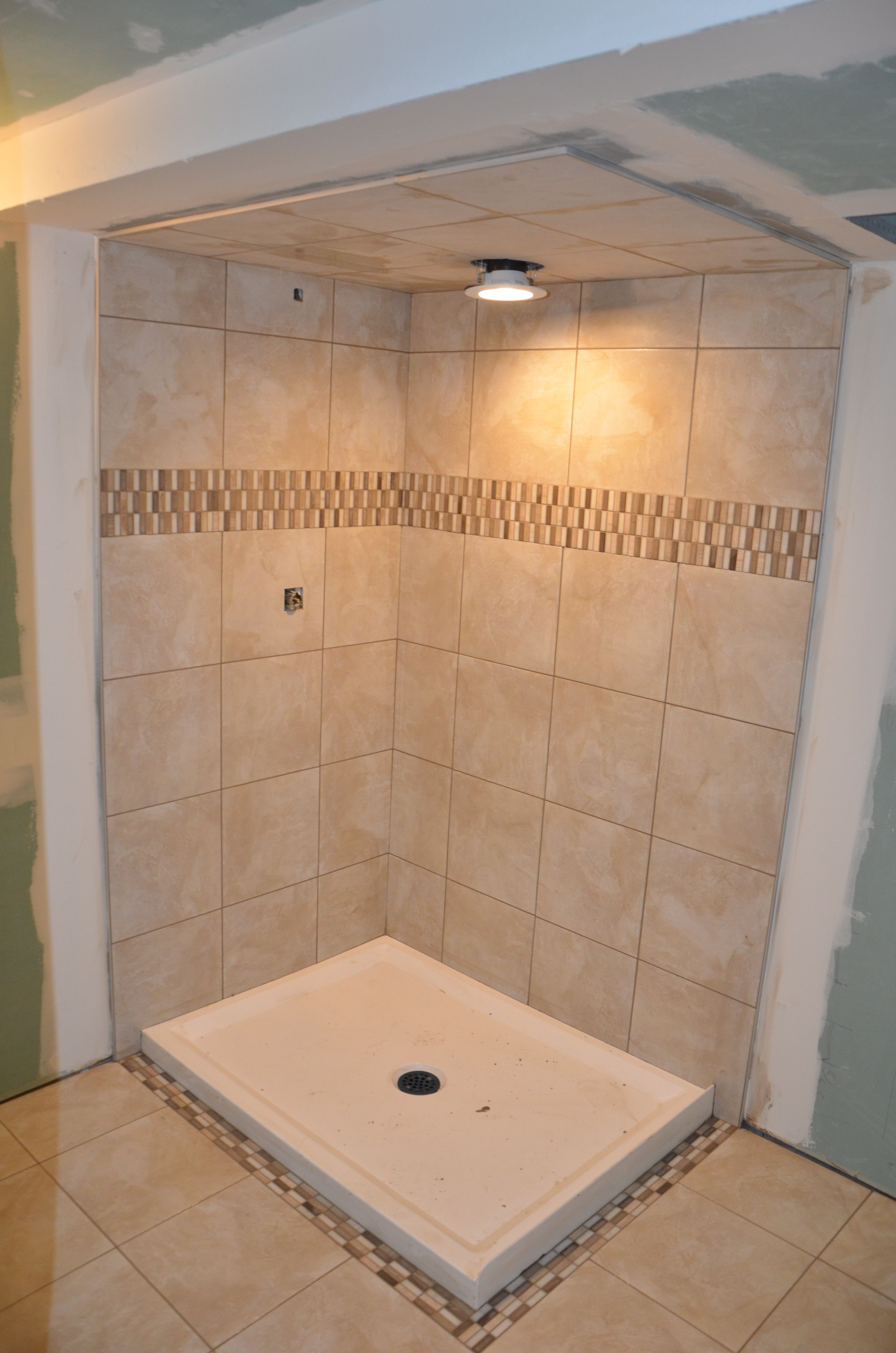 Tile and Shower Pan Job