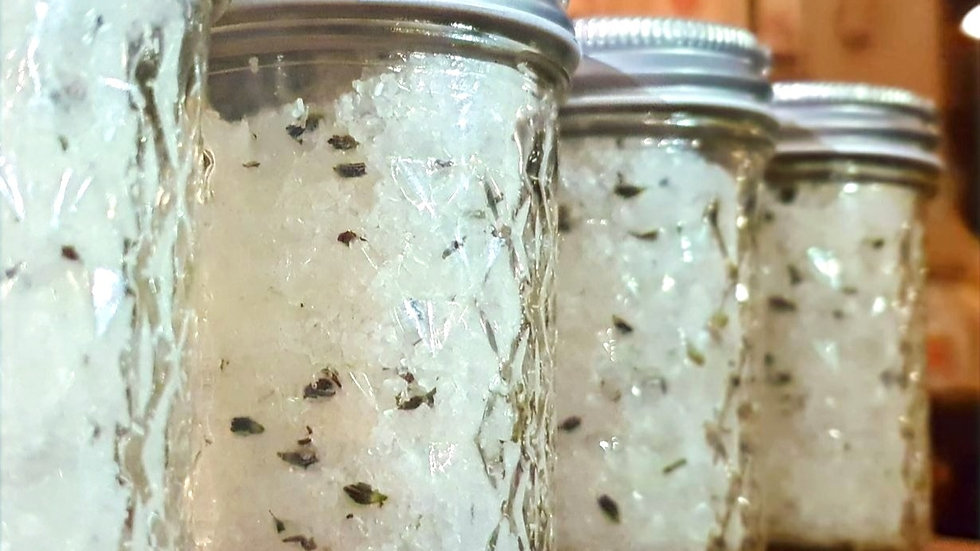 Sweet Dreams Bath Soak with Magnesium and Lavender